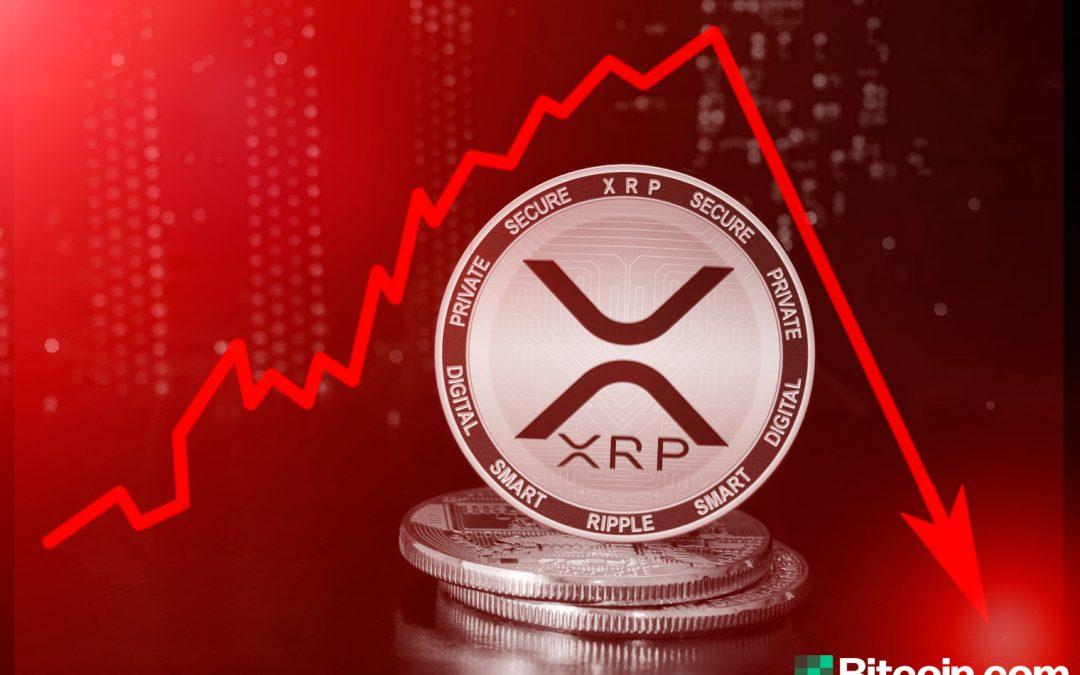 XRP cae un 56% en una vela, los comerciantes de Bitmex están indignados por un choque repentino