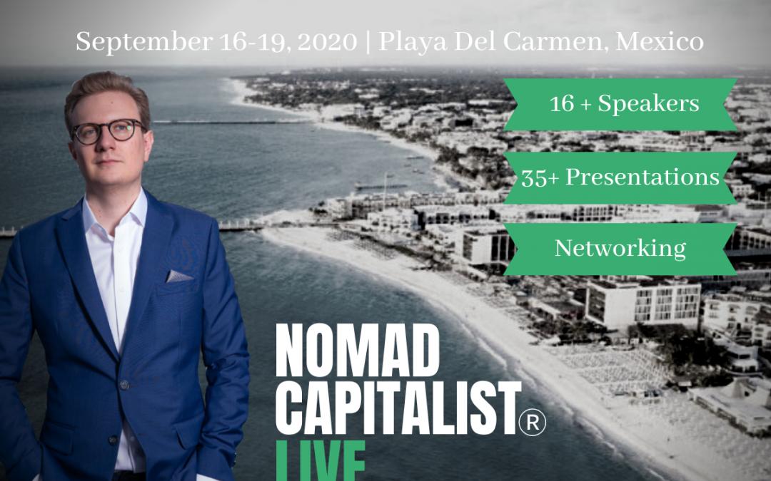 Atrapa al capitalista nómada en vivo en Playa del Carmen
