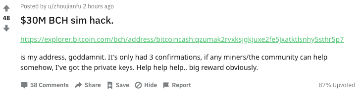 "$ 30M Bitcoin Cash 'SIM Hack' provoca chispas salvajes Crypto Tales con fuentes vagas ""width ="" 731 ""height ="" 199 ""srcset ="" https://blackswanfinances.com/wp-content/uploads/2020/02/erwl4cuuyae2ymi.png 731w, https://news.bitcoin.com/wp -content / uploads / 2020/02 / erwl4cuuyae2ymi-300x82.png 300w, https://news.bitcoin.com/wp-content/uploads/2020/02/erwl4cuuyae2ymi-696x189.png 696w ""tamaños ="" (ancho máximo : 731px) 100vw, 731px"