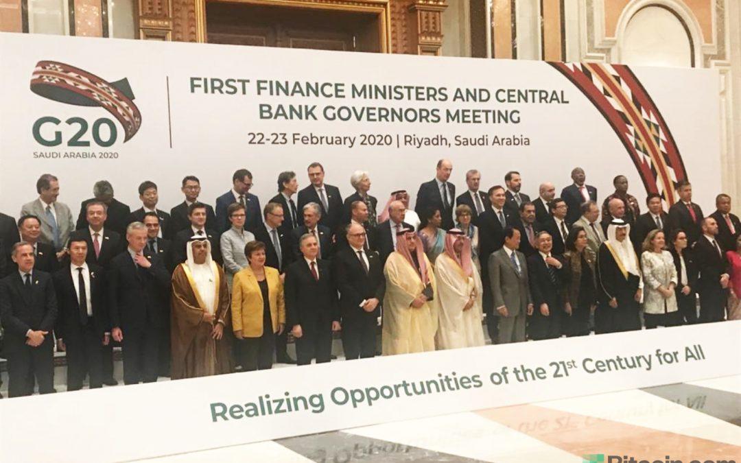 El G20 inicia la discusión 2020 sobre criptomonedas: insta a los países a aplicar los estándares del GAFI