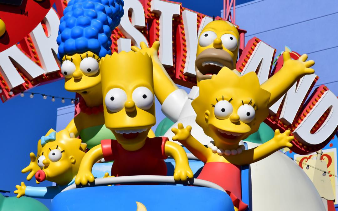 Criptomoneda explicada en el último episodio de Los Simpson