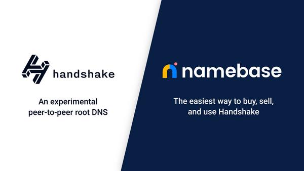 "La era de Dotcom de Crypto comienza cuando Handshake lanza dominios descentralizados ""width ="" 600 ""height ="" 338 ""srcset ="" https://news.bitcoin.com /wp-content/uploads/2020/02/namebase.png 600w, https://news.bitcoin.com/wp-content/uploads/2020/02/namebase-300x169.png 300w ""tamaños ="" (ancho máximo : 600px) 100vw, 600px"