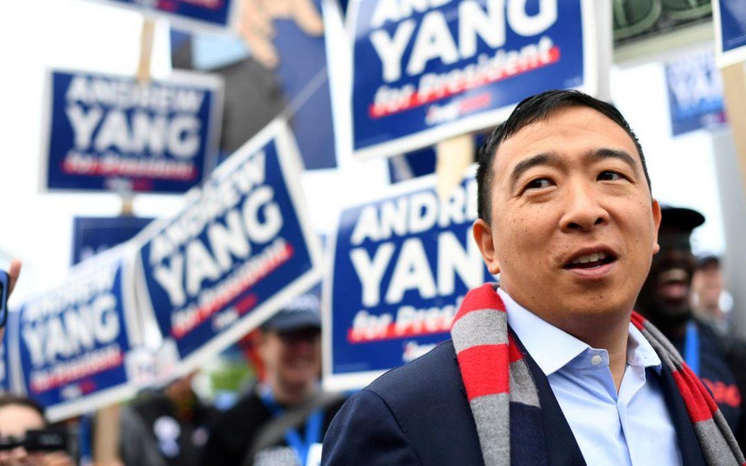 El candidato presidencial de los Estados Unidos, Andrew Yang, dice que las regulaciones no pueden obstaculizar el cifrado y afirma las prioridades
