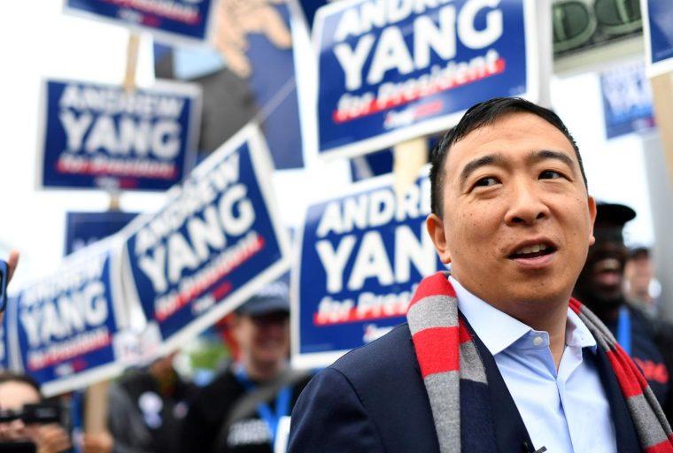 El candidato presidencial de los Estados Unidos, Andrew Yang, dice que las regulaciones no pueden impedir el cifrado, afirma las prioridades