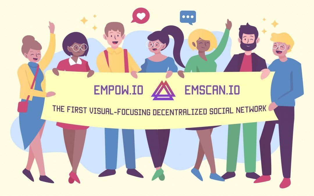 Empow – Red social descentralizada, enfocada visualmente