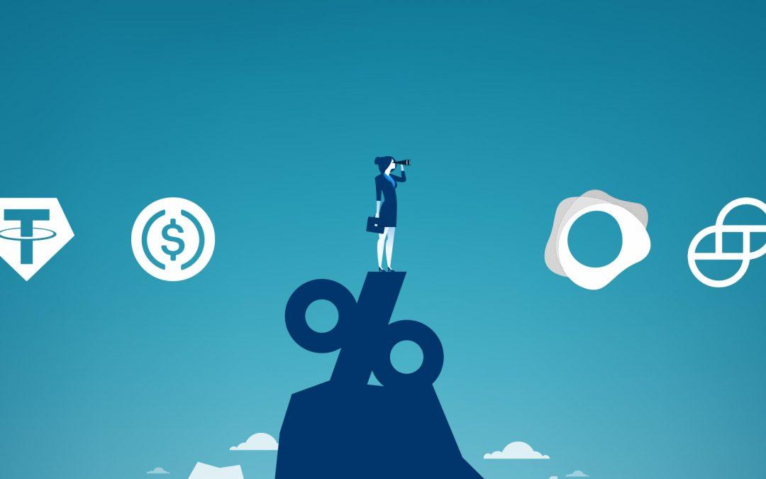 La oferta total de dinero estable supera los $ 10 mil millones, creciendo más del 70% desde febrero