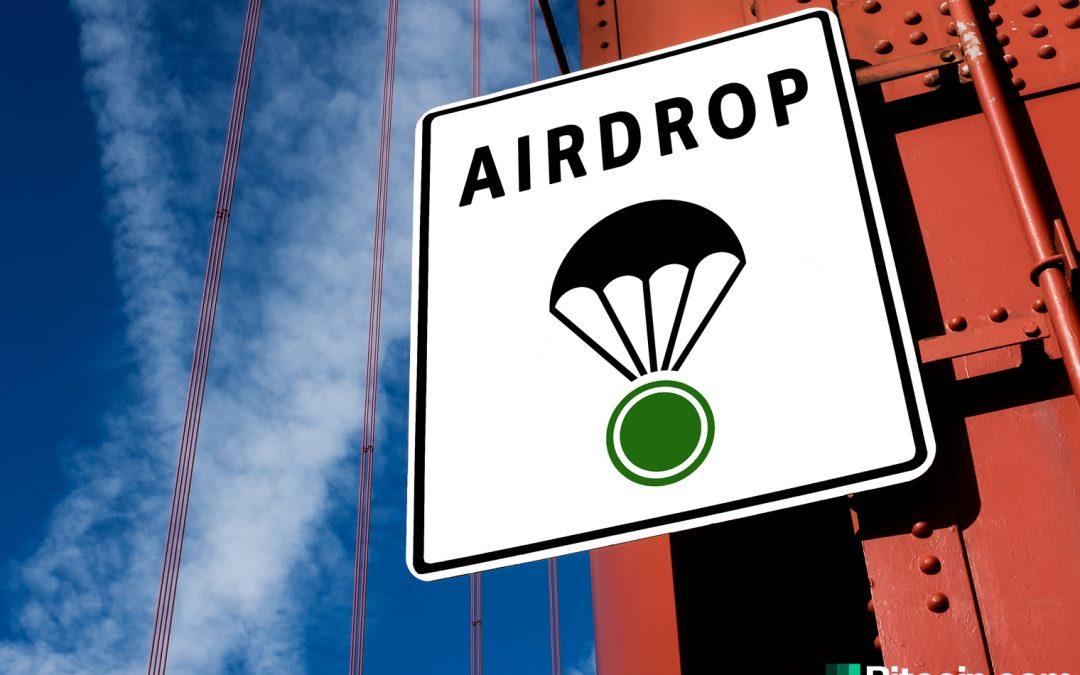 Airdrops y sorteos de criptomonedas: qué son y qué sigue