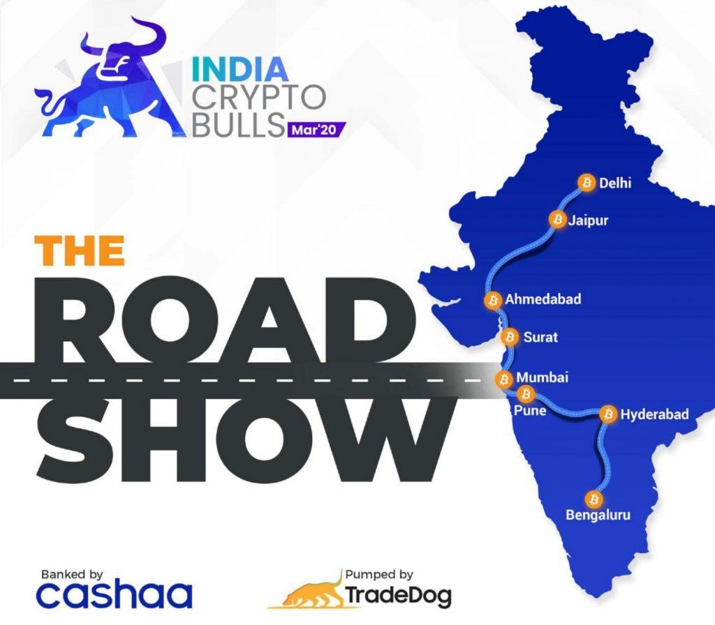 "Crypto Bulls Roadshow llegará a más de 15 ciudades indias - con participación del gobierno ""width ="" 1000 ""height ="" 875 ""srcset ="" https://blackswanfinances.com/wp-content/uploads/2020/03/india-crypto-bull-roadshow-1024x896.jpg 1024w, https: / /news.bitcoin.com/wp-content/uploads/2019/03/india-crypto-bull-roadshow-300x263.jpg 300w, https://news.bitcoin.com/wp-content/uploads/2019/03/ india-crypto-bull-roadshow-768x672.jpg 768w, https://news.bitcoin.com/wp-content/uploads/2019/03/india-crypto-bull-roadshow-1536x1345.jpg 1536w, https: // news.bitcoin.com/wp-content/uploads/2019/03/india-crypto-bull-roadshow-696x609.jpg 696w, https://news.bitcoin.com/wp-content/uploads/2019/03/india -crypto-bull-roadshow-1392x1218.jpg 1392w, https://news.bitcoin.com/wp-content/uploads/2019/03/india-crypto-bull-roadshow-1068x935.jpg 1068w, https: // noticias .poco coin.com/wp-content/uploads/2019/03/india-crypto-bull-roadshow-480x420.jpg 480w, https://news.bitcoin.com/wp-content/uploads/2019/03/india-crypto -bull-roadshow.jpg 1789w ""tamaños ="" (ancho máximo: 1000px) 100vw, 1000px"