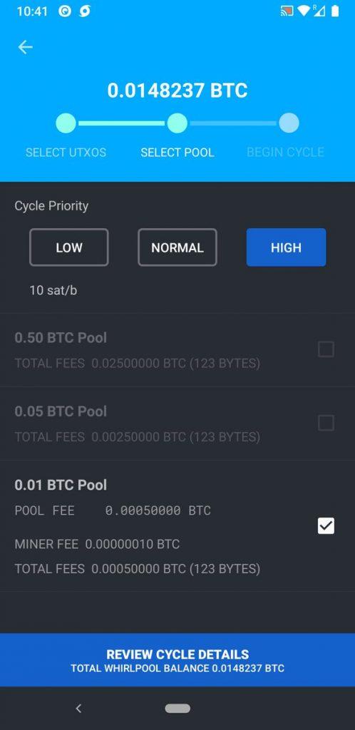 bitcoin whirlpool