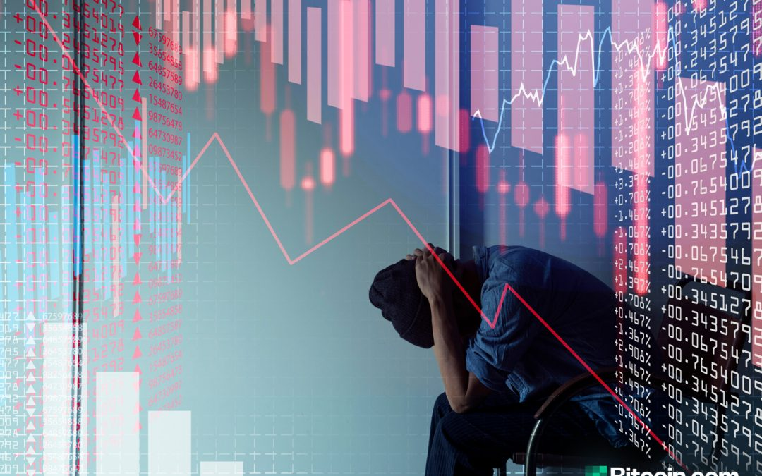 Actualización del mercado: la economía global sacude Bitcoin, el límite global de cifrado pierde $ 50B