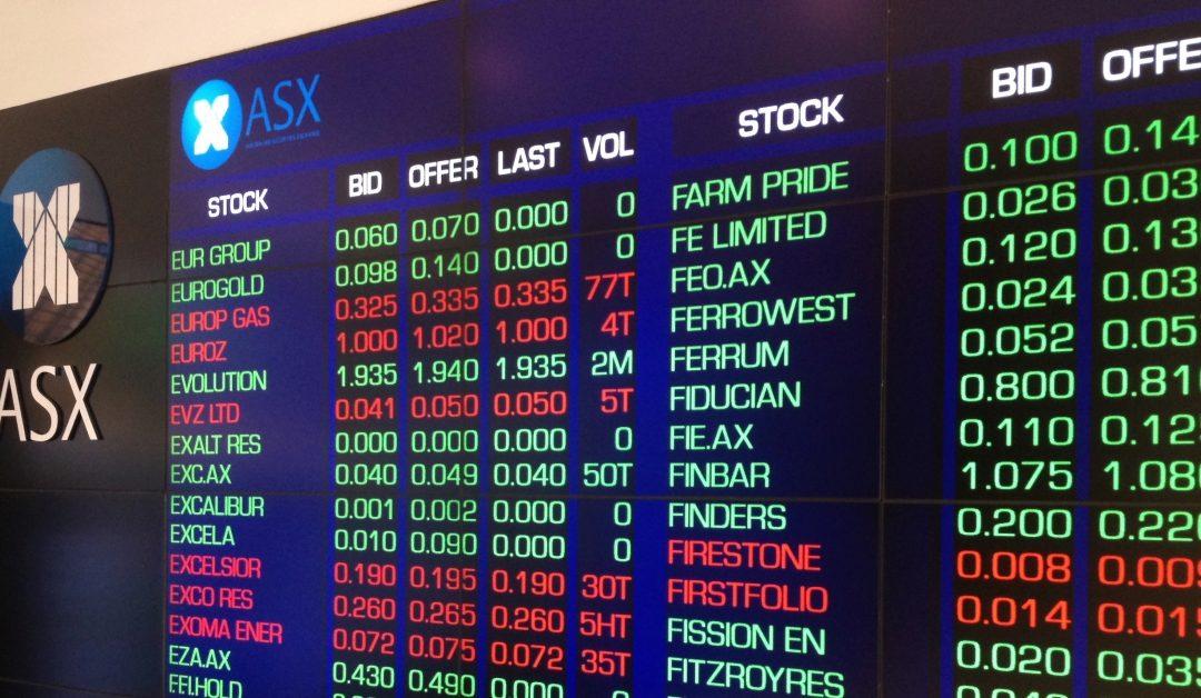 El mercado de acciones de Australia revela una tormenta potencial para las acciones de EE. UU., Mientras que Bitcoin cae