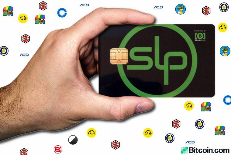 Bélgica Startup lanza billetera de hardware de chip inteligente para tokens basados en SLP
