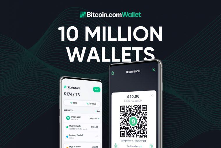 La nueva billetera Bitcoin.com ultrarrápida es popular con más de 10 millones de billeteras creadas