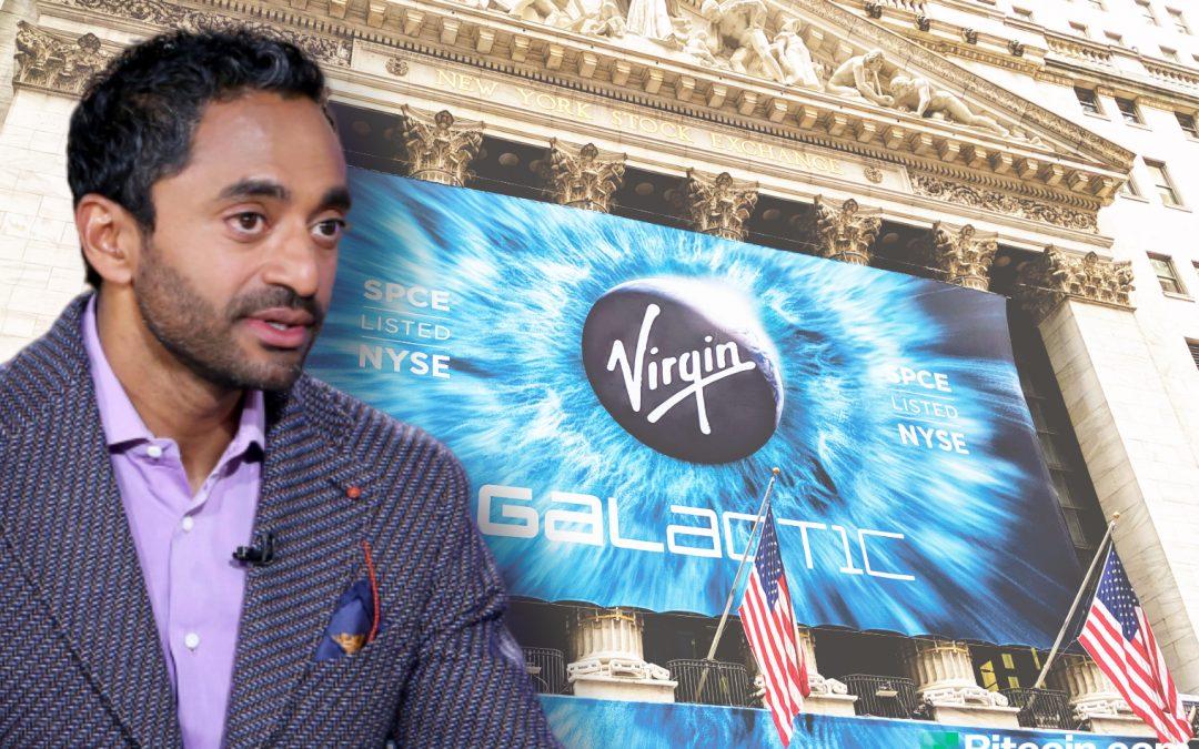 Chamath Palihapitiya de Virgin Galactic: Bitcoin podría llegar a $ 1 millón, todos deberían tener algunos