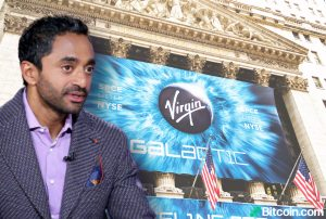 Chamath Palihapitiya de Virgin Galactic: Bitcoin podría llegar a $ 1 millón, todo el mundo debería tener algo