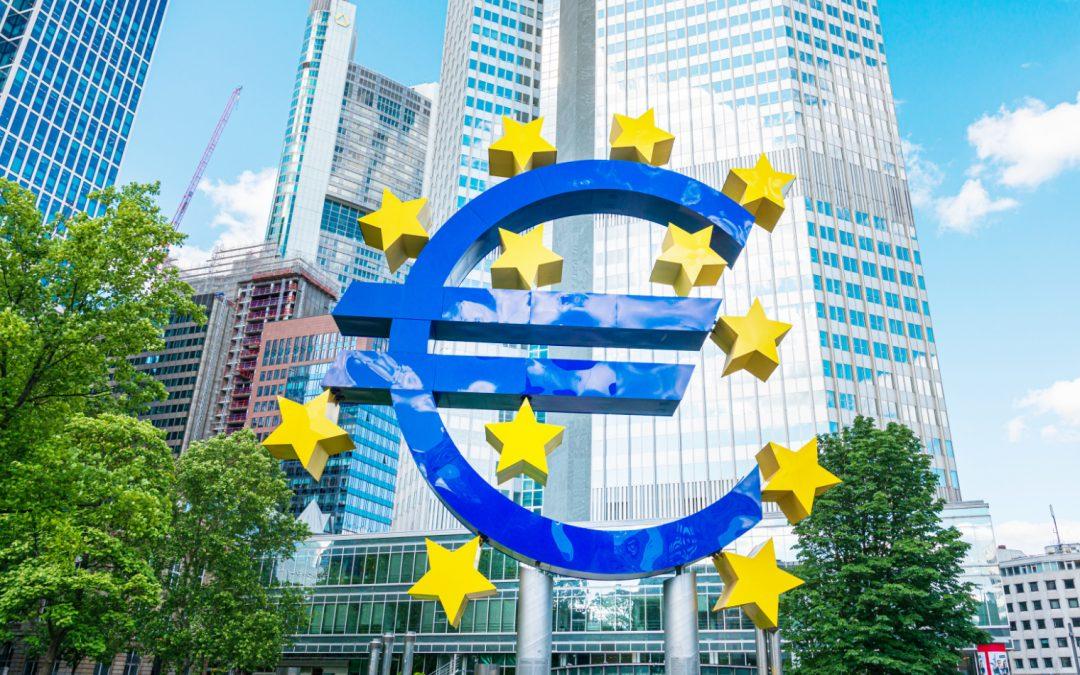 El BCE espera peor recesión en Europa que la economía global
