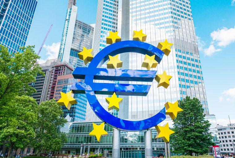 El BCE espera peor recesión en Europa que la economía mundial