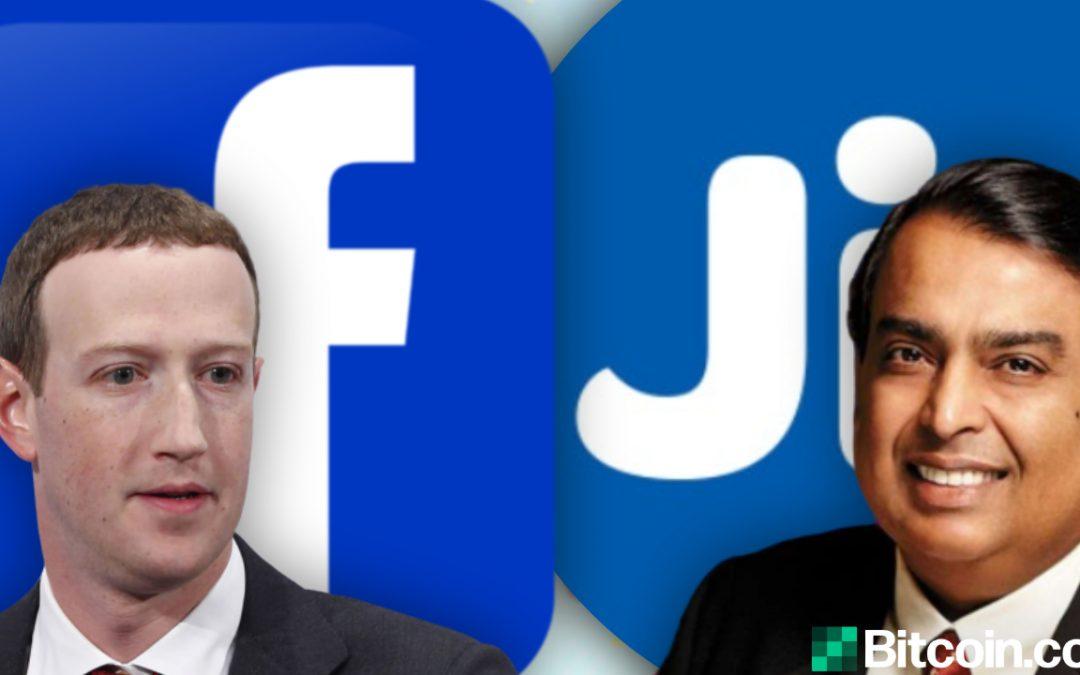Facebook compra participación en Reliance Jio: cómo el acuerdo afecta a la criptomoneda en India