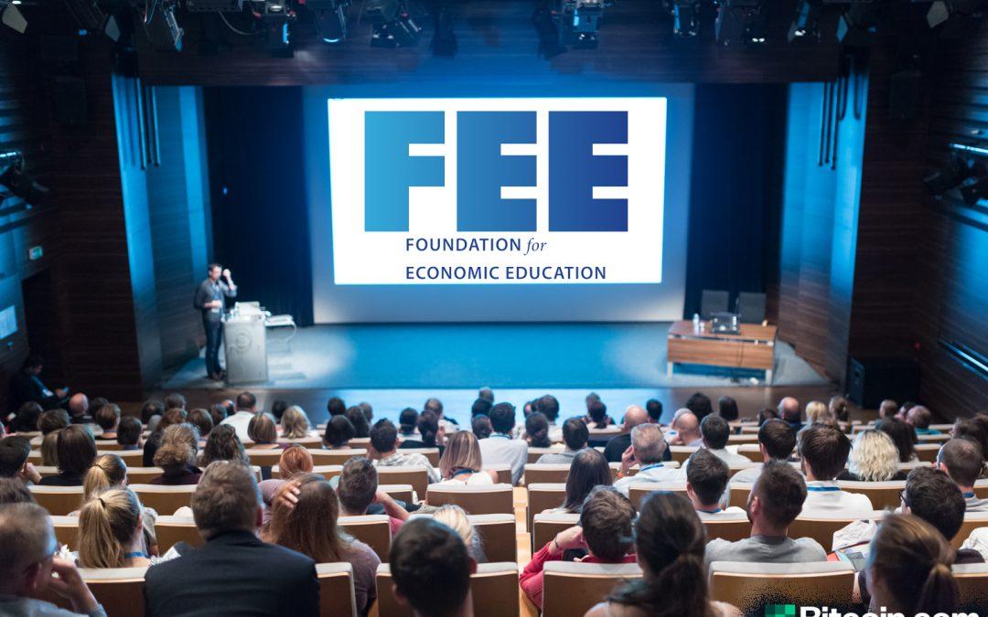 Free Market Think Tank FEE ahora acepta donaciones en efectivo de Bitcoin