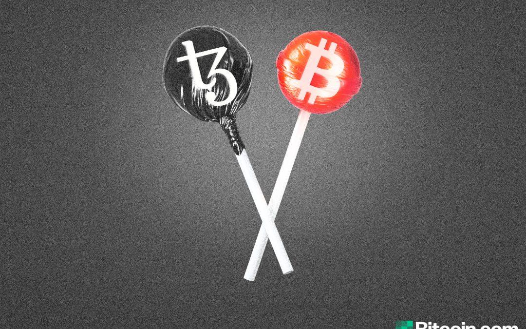 La nueva plataforma de Bitcoin envuelta le permite realizar transacciones en BTC utilizando Tezos