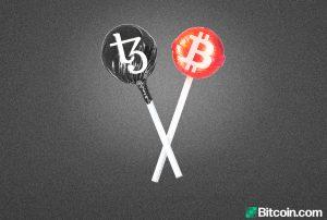 Nueva plataforma de Bitcoin envuelta le permite realizar transacciones en BTC utilizando Tezos