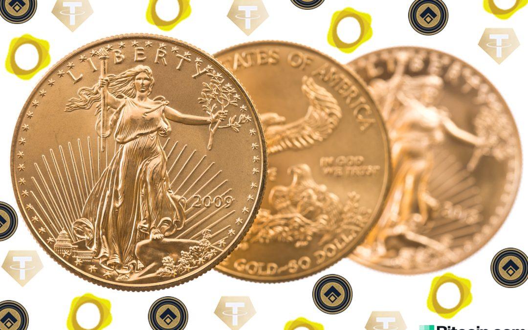 5% sobre Spot: las fichas con respaldo de oro Tether Gold y Digix se venden por primas más altas