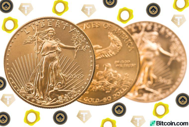 5% sobre Spot: los tokens respaldados por oro Tether Gold y Digix se venden por primas más altas
