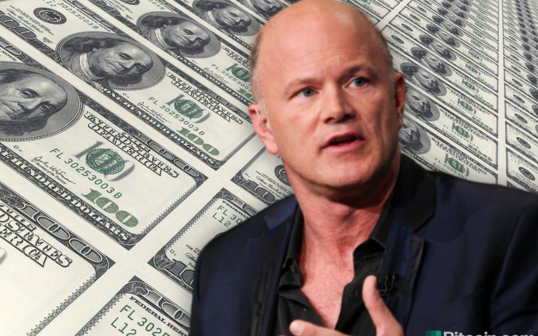 Novogratz: tenemos una orgía de impresión de dinero en marcha, un entorno increíble para comprar Bitcoin
