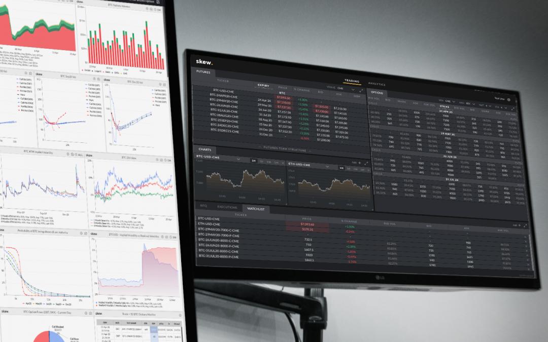 El proveedor de datos criptográficos Skew recauda $ 5 millones en nuevos fondos y lanza una plataforma de ejecución comercial