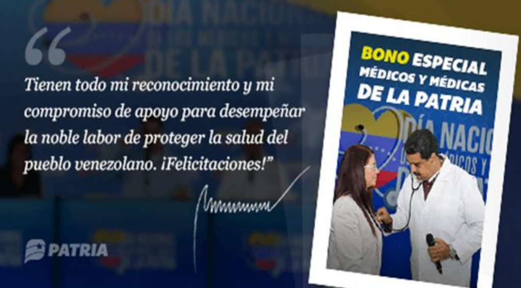 "Asistencia pandémica: Maduro lanzará criptomonedas a todos los médicos en Venezuela ""width ="" 696 ""height ="" 385 ""srcset ="" https://news.bitcoin.com/wp-content/uploads/2019/ 04 / venezolano-gobierno-anuncio-1024x567.png 1024w, https://news.bitcoin.com/wp-content/uploads/2019/04/venezuelan-government-announcement-300x166.png 300w, https: // news. bitcoin.com/wp-content/uploads/2019/04/venezuelan-government-announcement-768x425.png 768w, https://news.bitcoin.com/wp-content/uploads/2019/04/venezuelan-government-announcement -696x385.png 696w, https://news.bitcoin.com/wp-content/uploads/2019/04/venezuelan-government-announcement-1392x770.png 1392w, https://news.bitcoin.com/wp-content / uploads / 2019/04 / anuncio-gobierno-venezolano cemento-1068x591.png 1068w, https://news.bitcoin.com/wp-content/uploads/2019/04/venezuelan-government-announcement-759x420.png 759w, https://news.bitcoin.com/wp- content / uploads / 2019/04 / venezuelan-government-advertising.png 1519w ""tamaños ="" (ancho máximo: 696px) 100vw, 696px"
