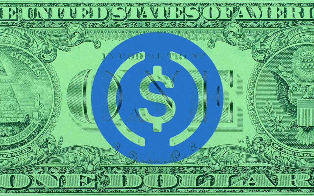 El suministro total del USDC cruza mil millones después del aumento de la oferta de tokens en junio