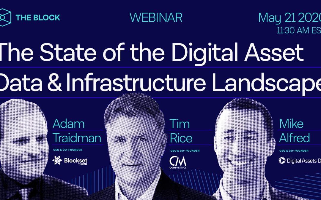 The Block presenta: El estado del panorama de infraestructura y datos de activos digitales
