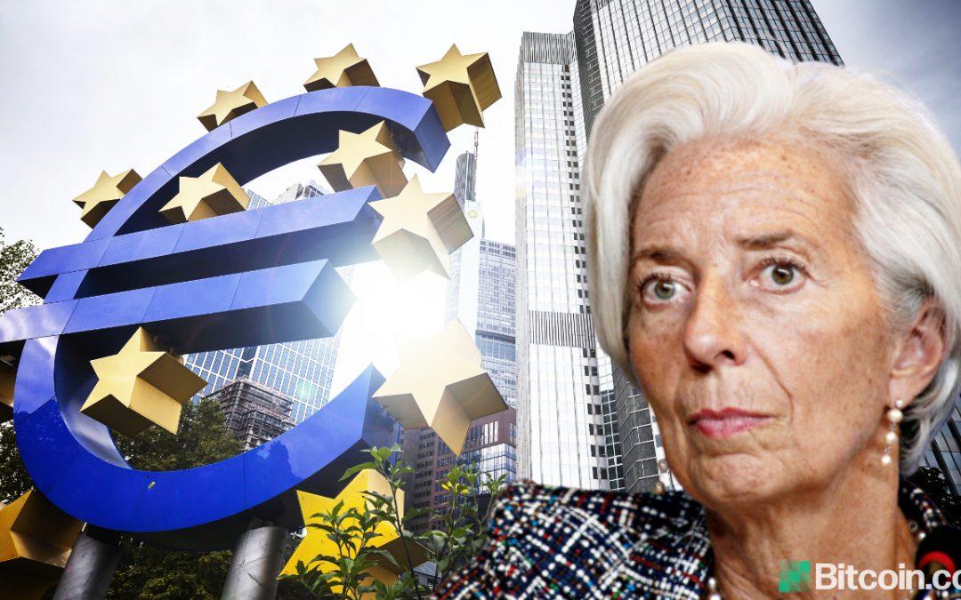 """El BCE en modo de emergencia completo como """"declive sin precedentes"""" golpea la zona euro"""