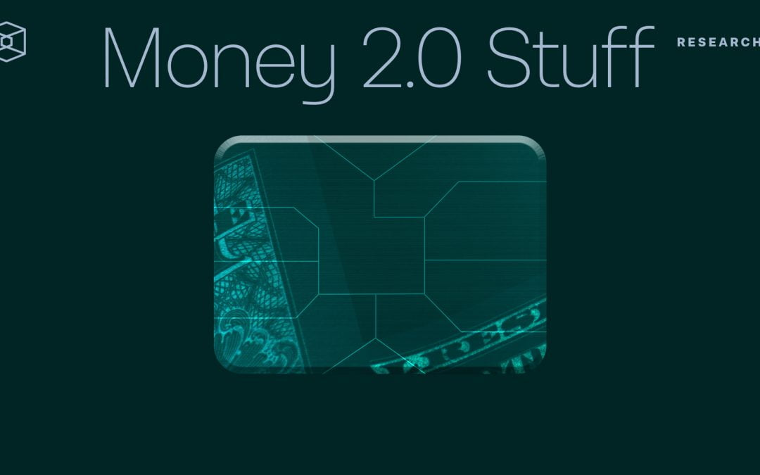 Money 2.0 Stuff: la codicia es buena