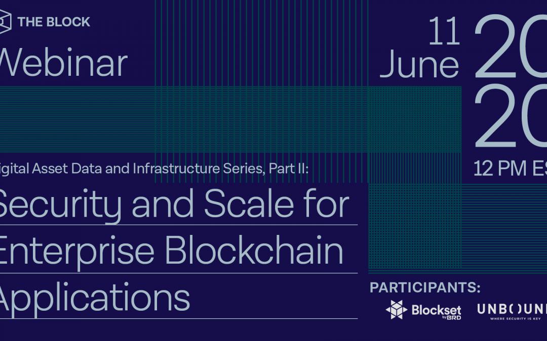 The Block presenta: Datos de activos digitales Parte II | Seminario web completo