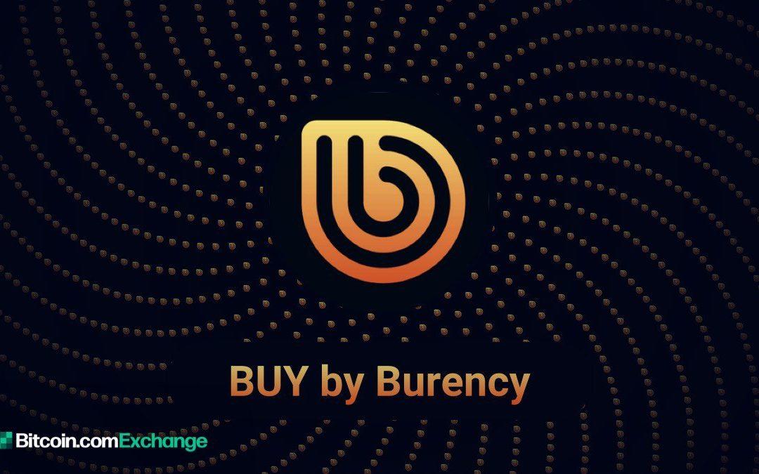 Bitcoin.com Exchange anuncia listado de nueva COMPRA de activos digitales por Burency