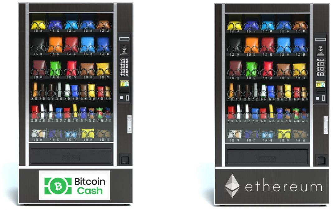 Varias máquinas expendedoras de Hong Kong admiten pagos en efectivo de Bitcoin sobre BTC