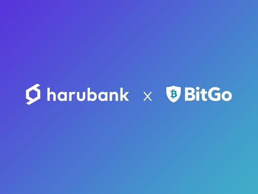 HaruBank colabora con BitGo para garantizar la seguridad de los activos criptográficos de sus clientes