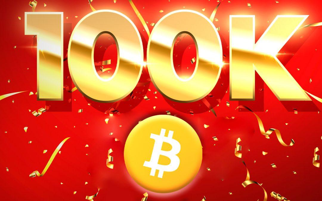 La marcha de Bitcoin a $ 100K: una serie de expertos en criptografía que creen que el precio por BTC toca seis dígitos