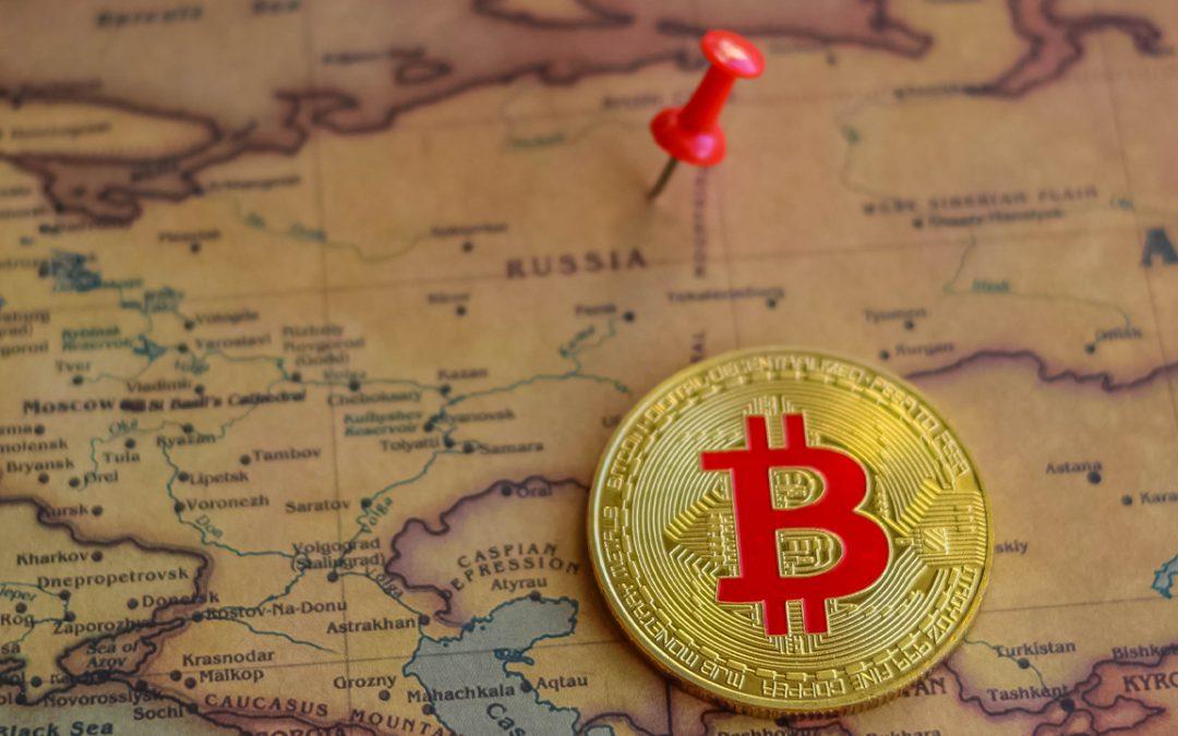 A pesar de las confusas leyes de cifrado de Rusia, los volúmenes de comercio de Bitcoin P2P se disparan