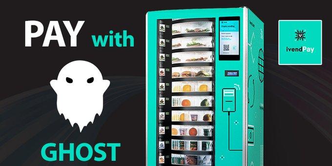 60 Máquinas expendedoras basadas en Hong Kong Soporte de McAfee Token fantasma para pagos
