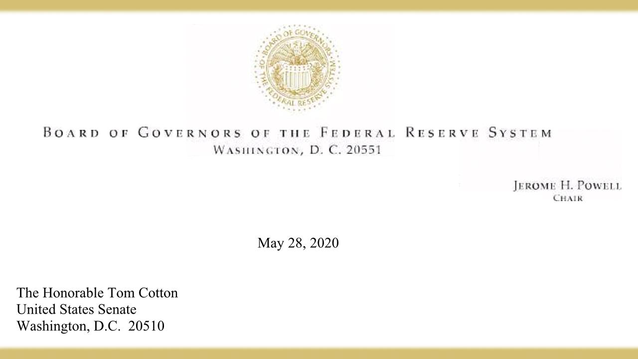 El presidente de la Reserva Federal, Jerome Powell, habla sobre el apalancamiento de un reemplazo de libor basado en Ethereum