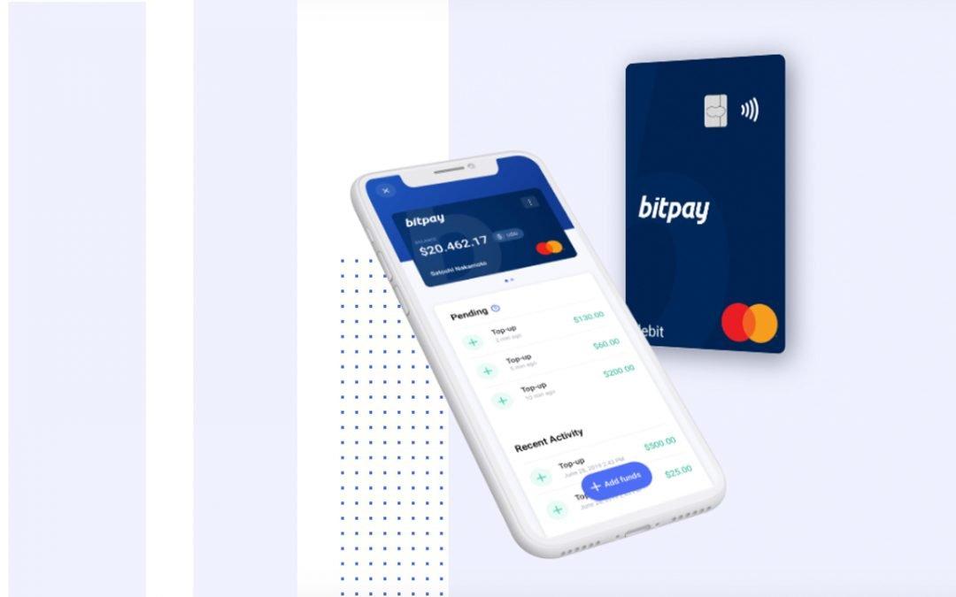 Bitpay revela Crypto-to-Fiat Mastercard prepago, la tarjeta Visa insignia de la firma finaliza en diciembre