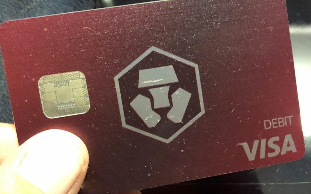 Revisión: tarjeta Visa prepaga Ruby Steel de Crypto.com