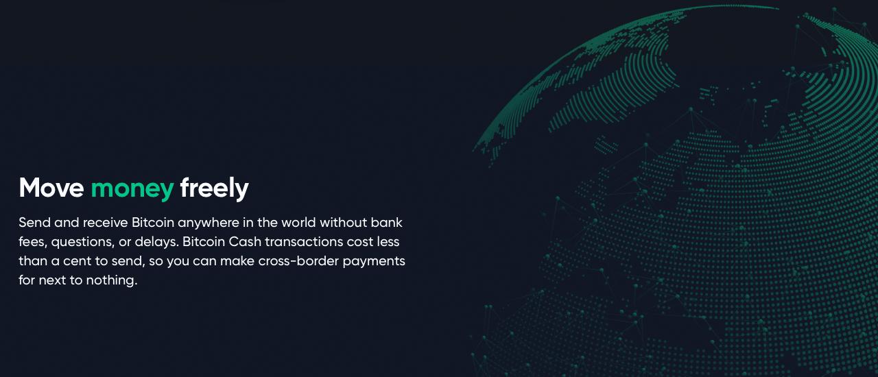 Bitcoin 101: Cómo enviar y recibir Bitcoin Efectivo a través de la billetera Bitcoin.com