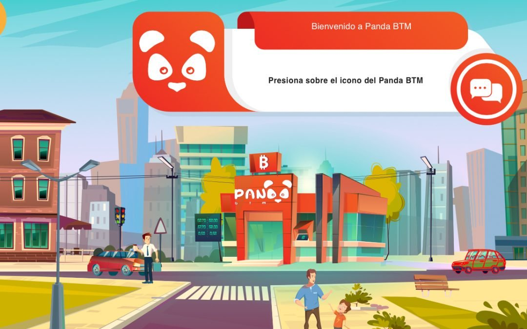 Virtual Panda BTM lanzado para residentes colombianos: distribuye BTC, BCH, DAI y Dash