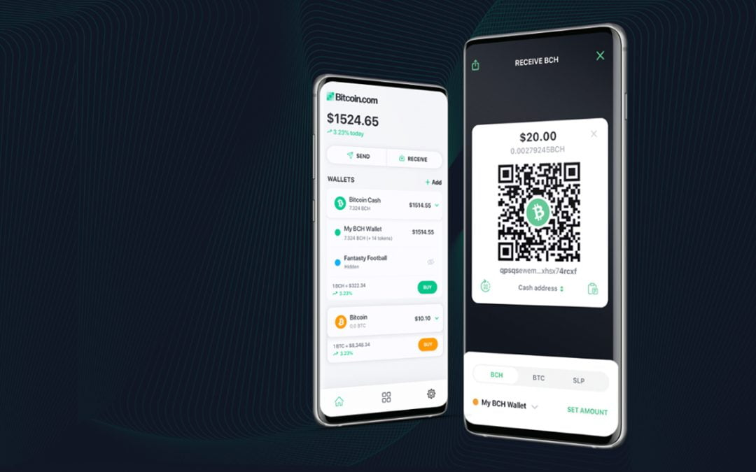 Crypto 101: cómo enviar y recibir Bitcoin Cash a través de la billetera Bitcoin.com