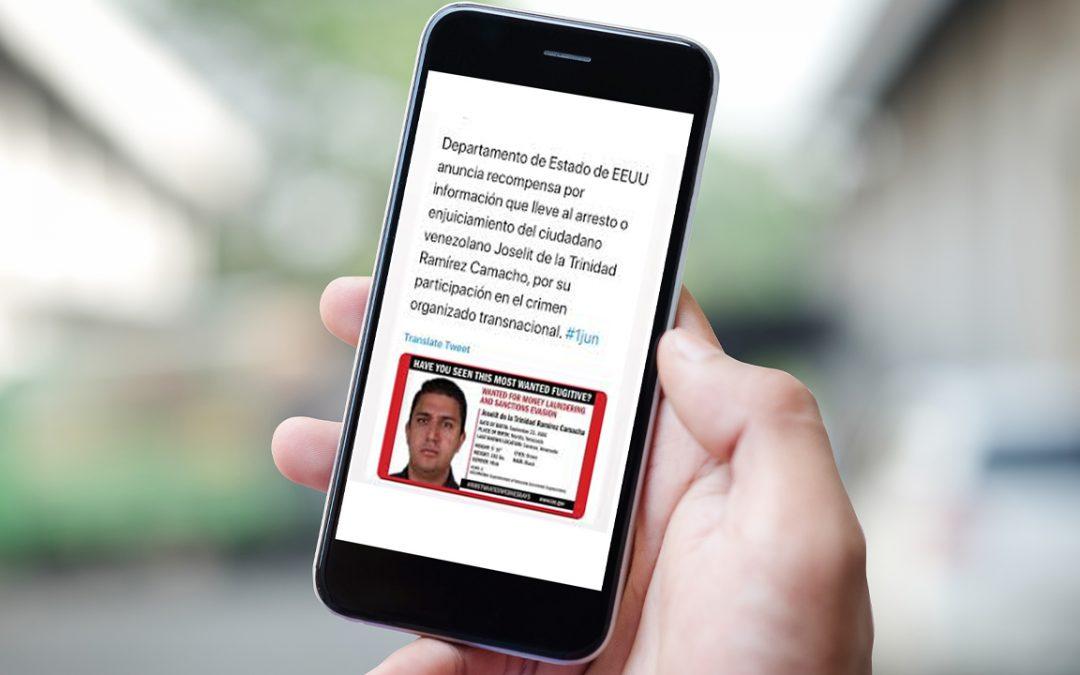 Las fuerzas del orden público estadounidenses prometen $ 5 millones para la captura del superintendente de criptomonedas de Venezuela