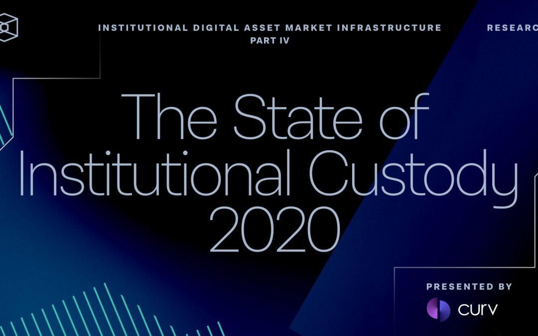 El estado de la custodia institucional 2020