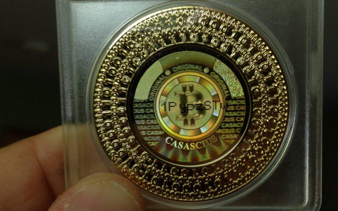 $ 424 millones y valor numismático: solo quedan 20,000 bitcoins físicos Casascius sin gastar